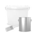 Putzband gerillt, gelb 33 m  x 30 mm