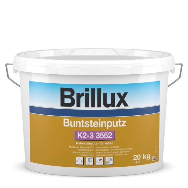 Buntsteinputz für Aussen 2-3MM Ton 3409