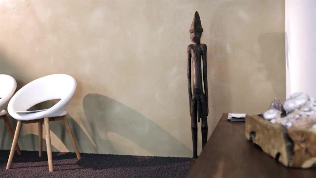 mit Creativ Sentimento 78 für glatte, trendig-moderne Oberflächen auf Kalkbasis, optional mit Creativ Strukturkorn 178