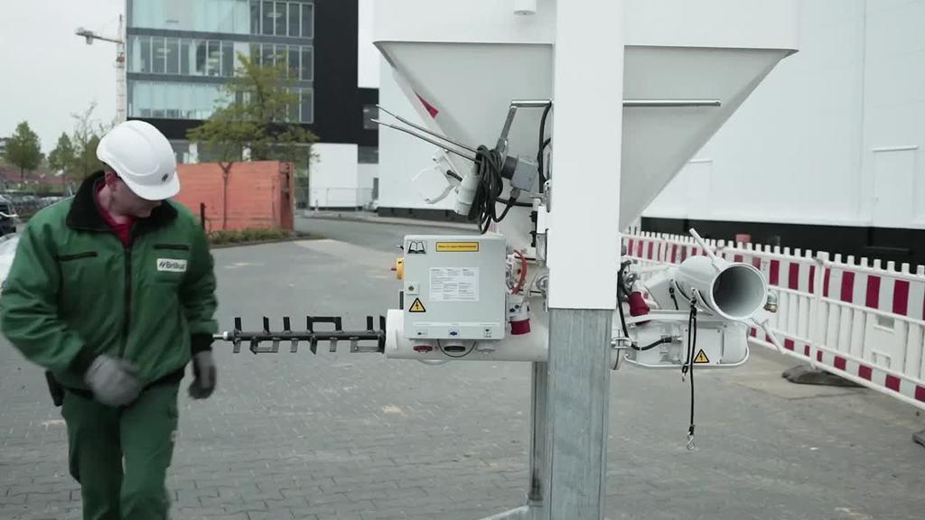 Videoanleitung Vorbereitung zur Inbetriebnahme eines Trockensilos
