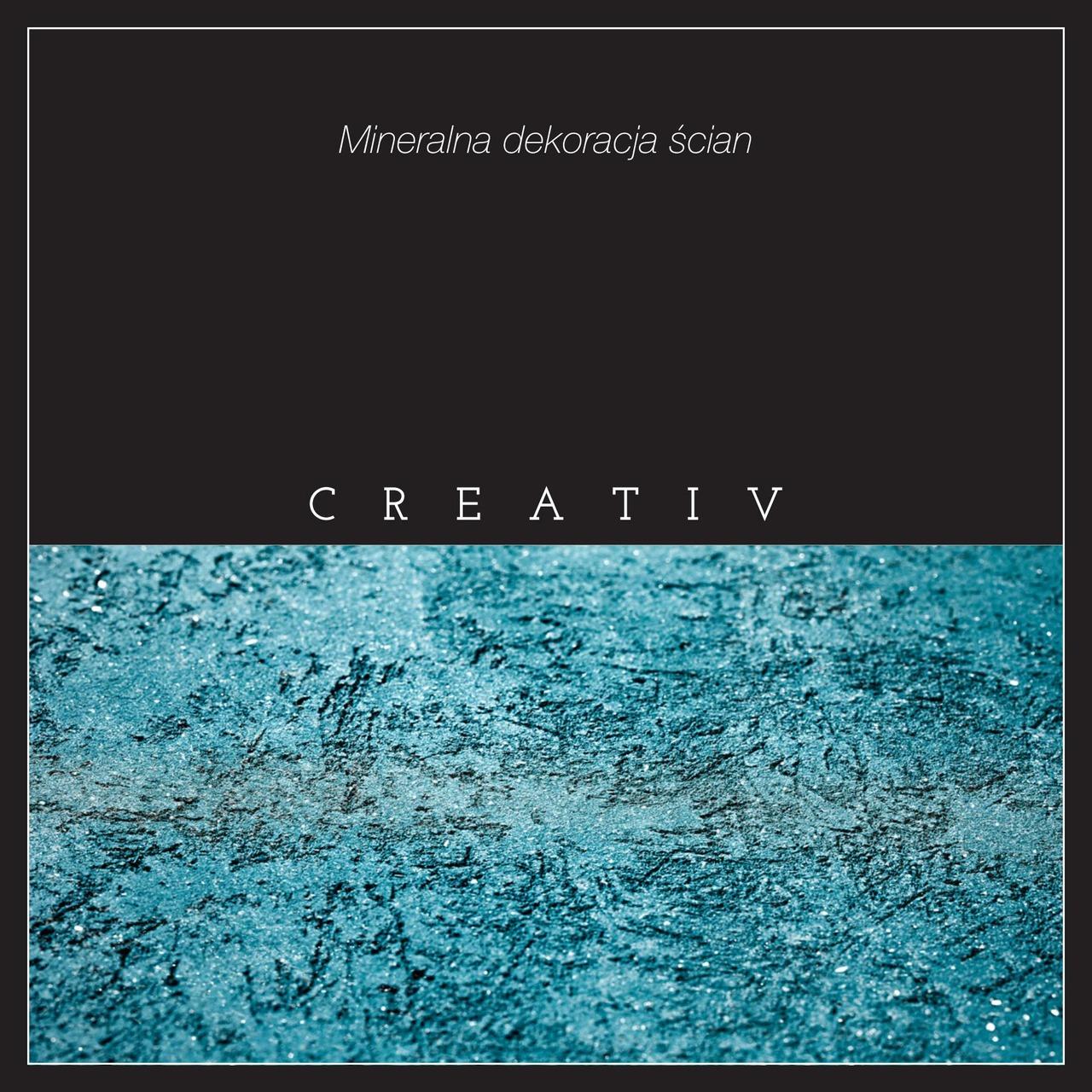 Broszura Creativ zawiera przykłady aranżacji wnętrz, ich opisy i szczegółowe informacje  dotyczące mineralnej dekoracji ścian.