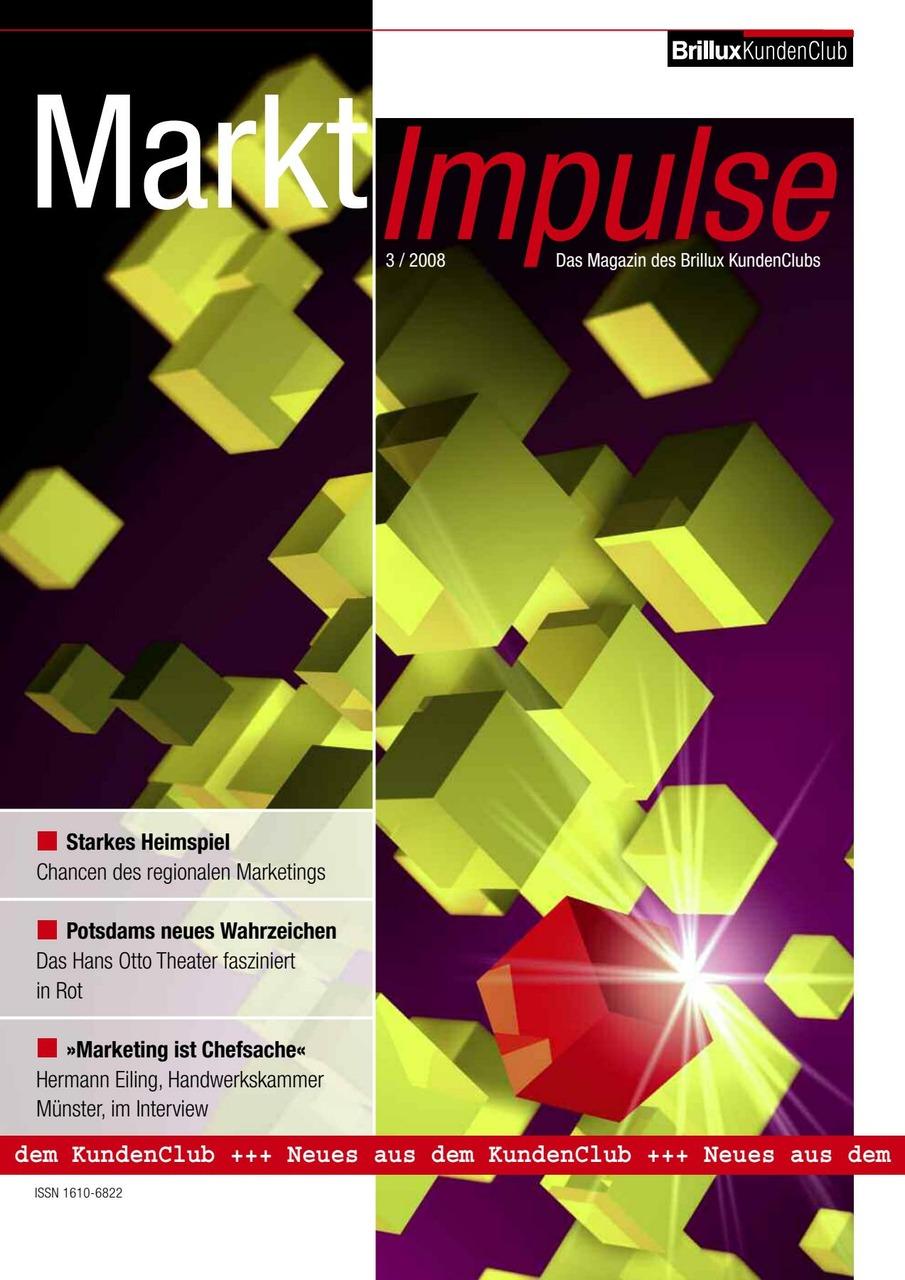 Branchentrends und Marktneuheiten, Werbeideen und Perspektiven am Bau, interessante Reportagen und kluge Köpfe: Dieses Magazin ist geladen mit Sehens- und Wissenswertem. | Faltstand | Faltstand