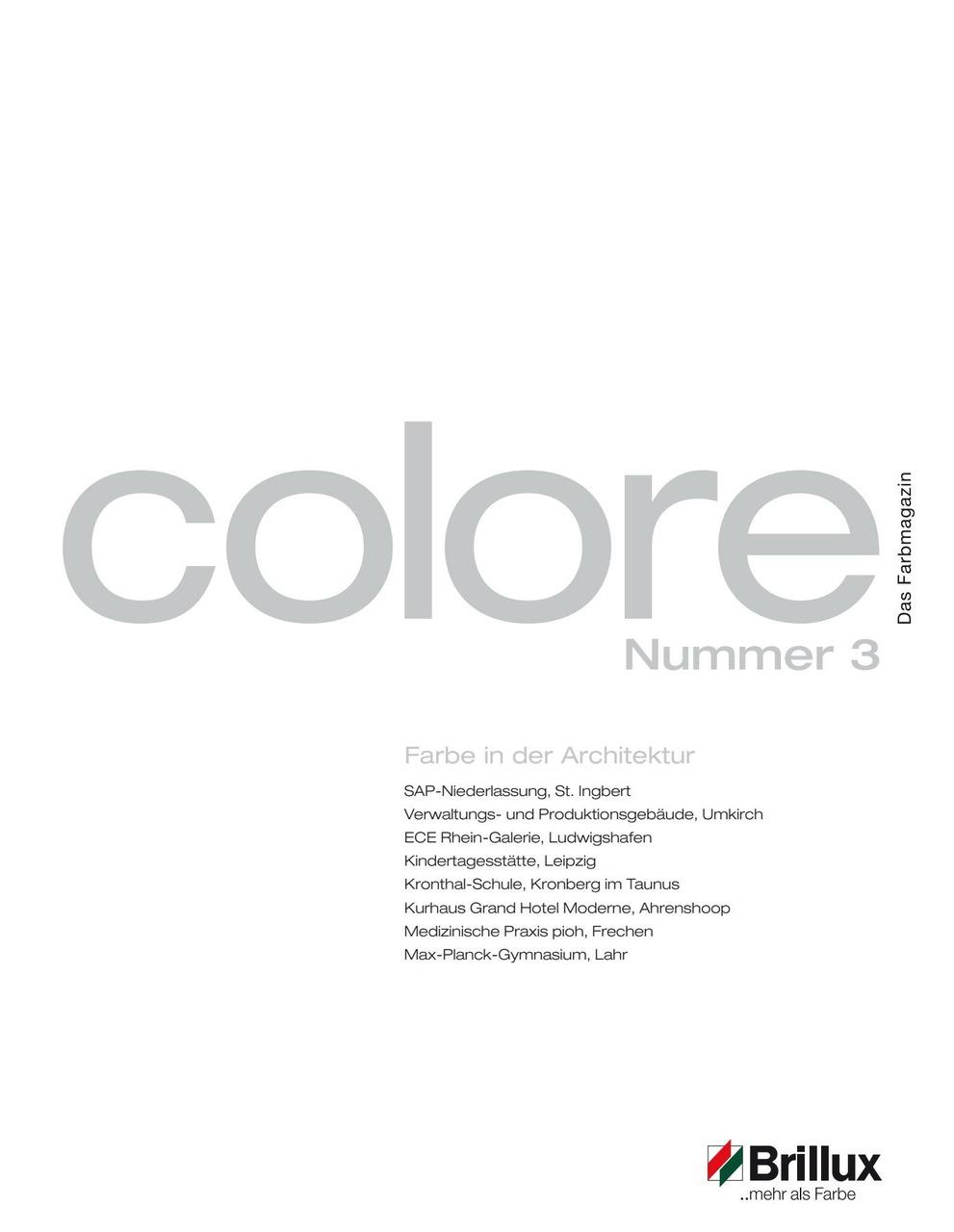 colore Nummer 03 | Das Farbmagazin