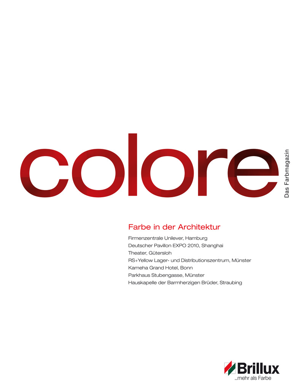 colore Nummer 02 | Das Farbmagazin