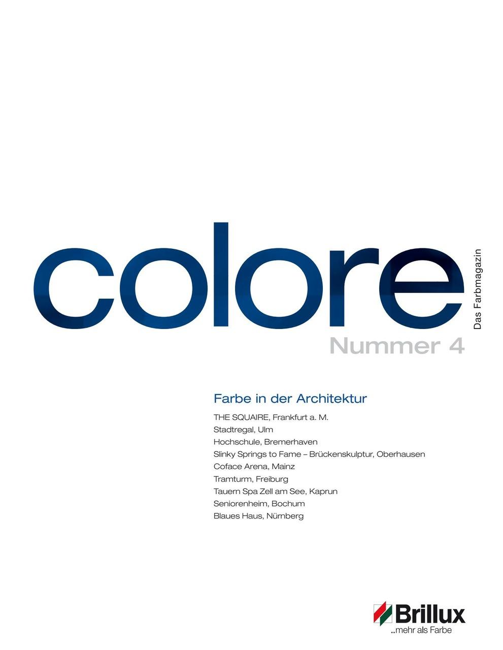 Colore 02 2010 Architekten Magazin