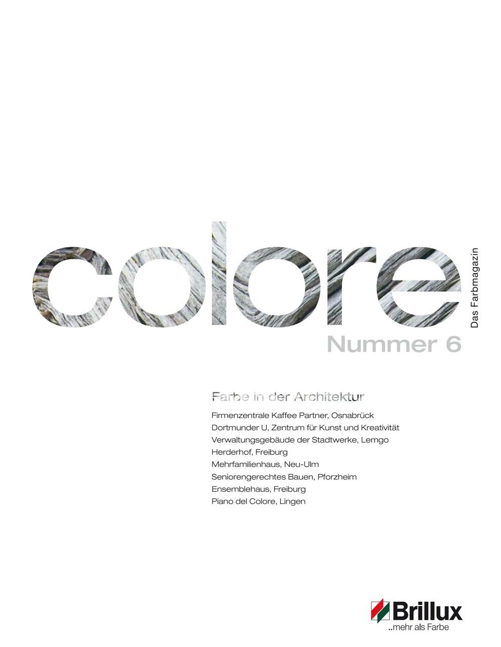 colore Nummer 06 | Das Farbmagazin