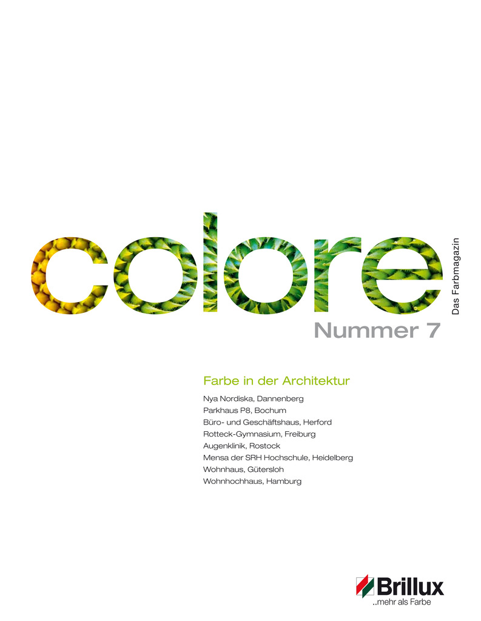 colore Nummer 07 | Das Farbmagazin
