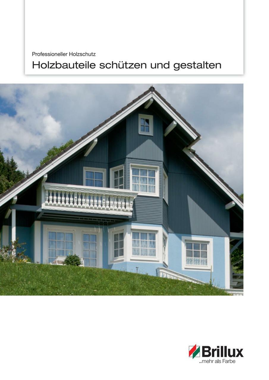 Broschüre mit reichlich Fachwissen zur Beschichtung von Holzuntergründen.