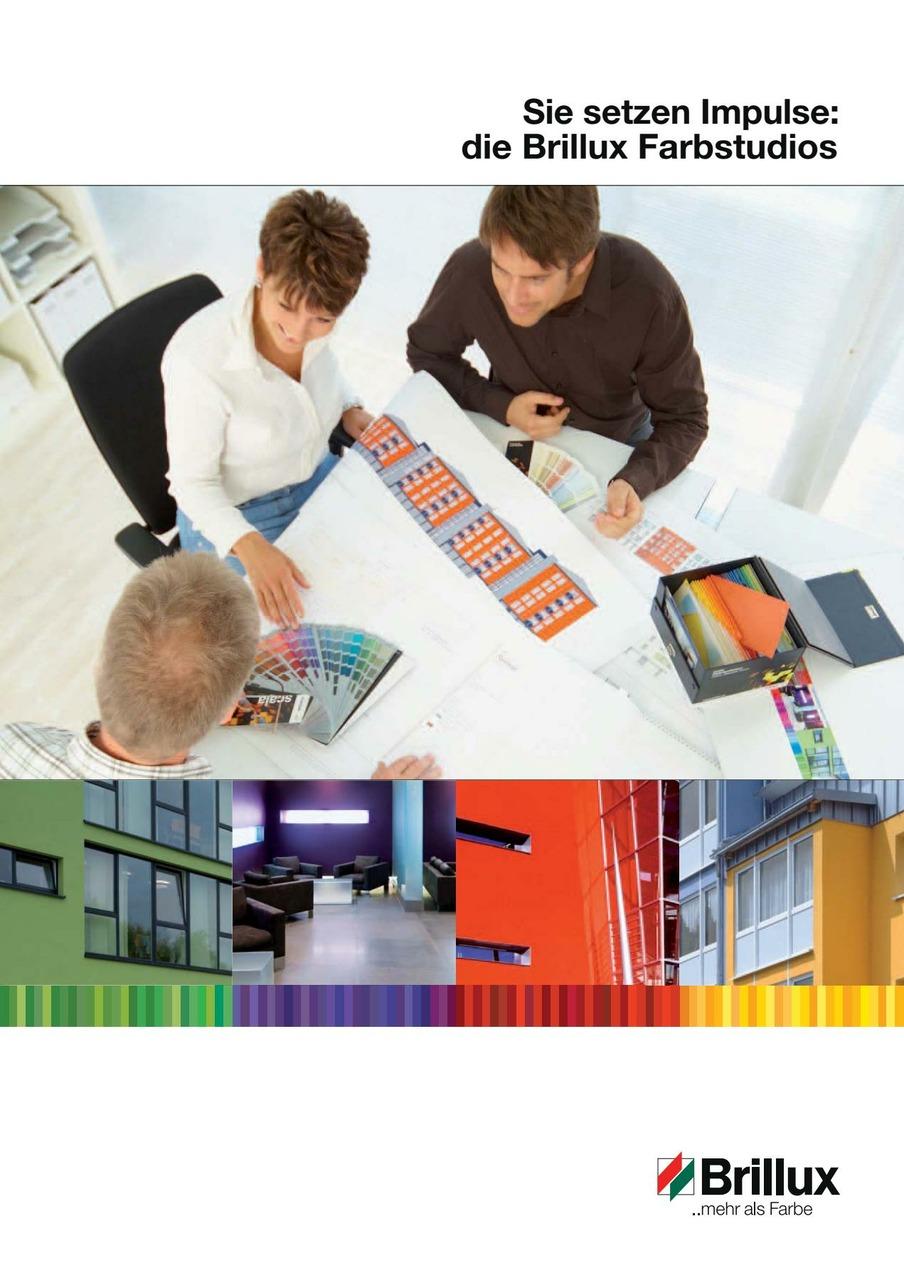 Ein passendes Farbkonzept macht die Proportionen des Baukörpers sichtbar, gliedert Flächen und setzt Akzente. Ein gelungener Entwurf bindet ein Gebäude in sein Umfeld ein oder grenzt es ab – ga nz nach Wunsch und Situation. Es gibt eine ganze Menge Facetten von Farbe in der Architektur. Erfahren Sie mehr über Möglichkeiten der Farbgestaltung in dieser Broschüre.