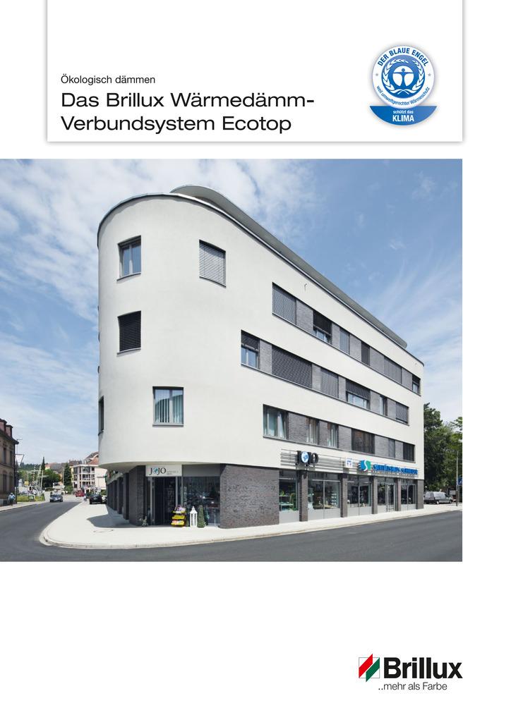 Informationsbroschüre Ecotop