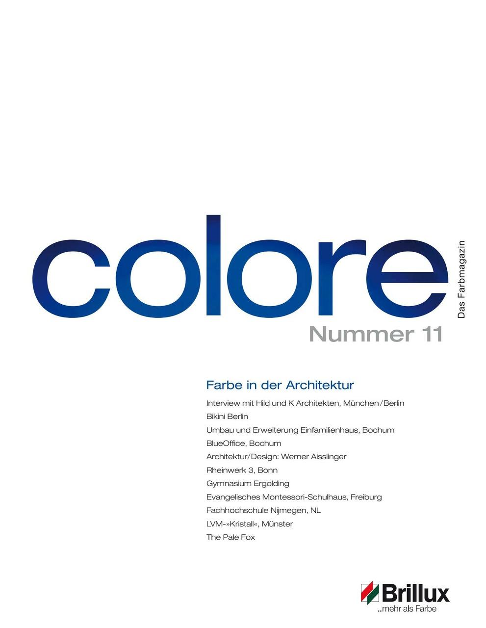 colore Nummer 11 | Das Farbmagazin