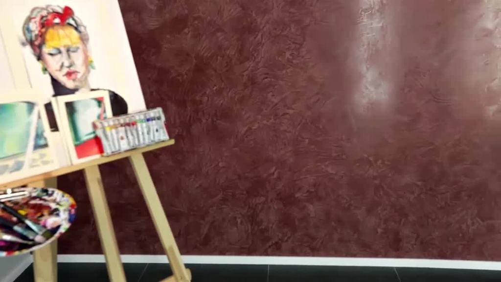 Der Trailer zeigt die Verarbeitung von Creativ Algantico 70 in der Ausführungstechnik Vivace.