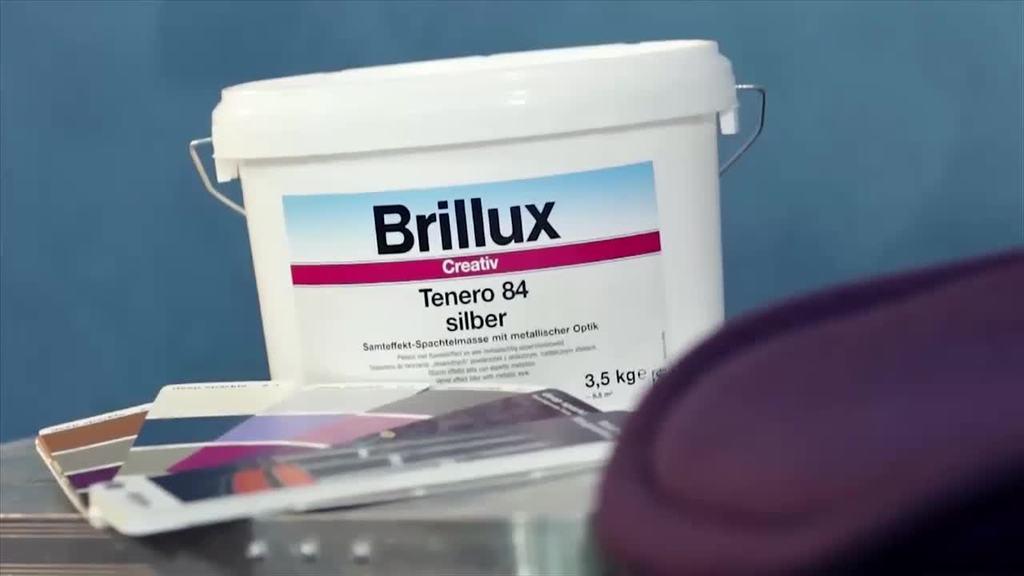 Der Trailer zeigt die Verarbeitung von Creativ Tenero 84 in der Ausführungstechnik Serico.