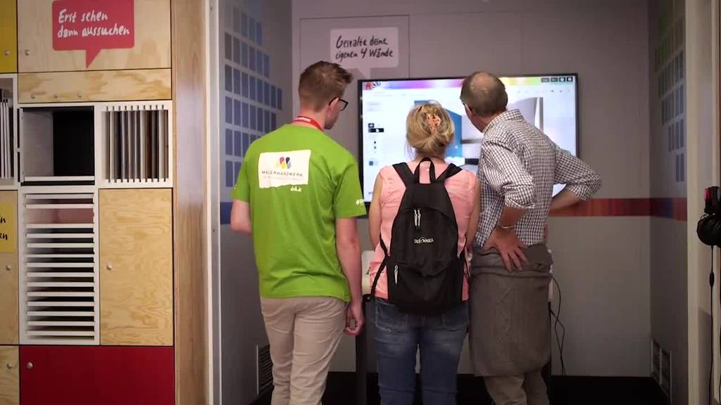 Dieses Video gibt einen Überblick über die Funktionen und Ausstellungsbereiche des Brillux Showtruck.
