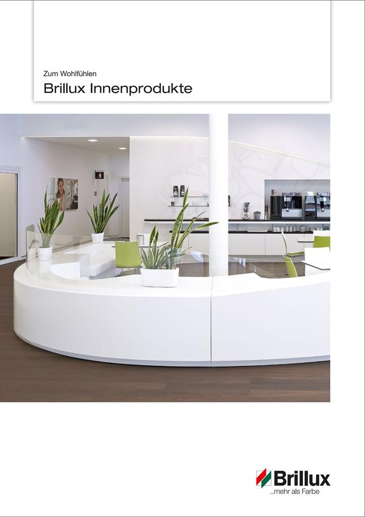Vielseitige Informationen rund um das Brillux Sortiment für den Innenbereich