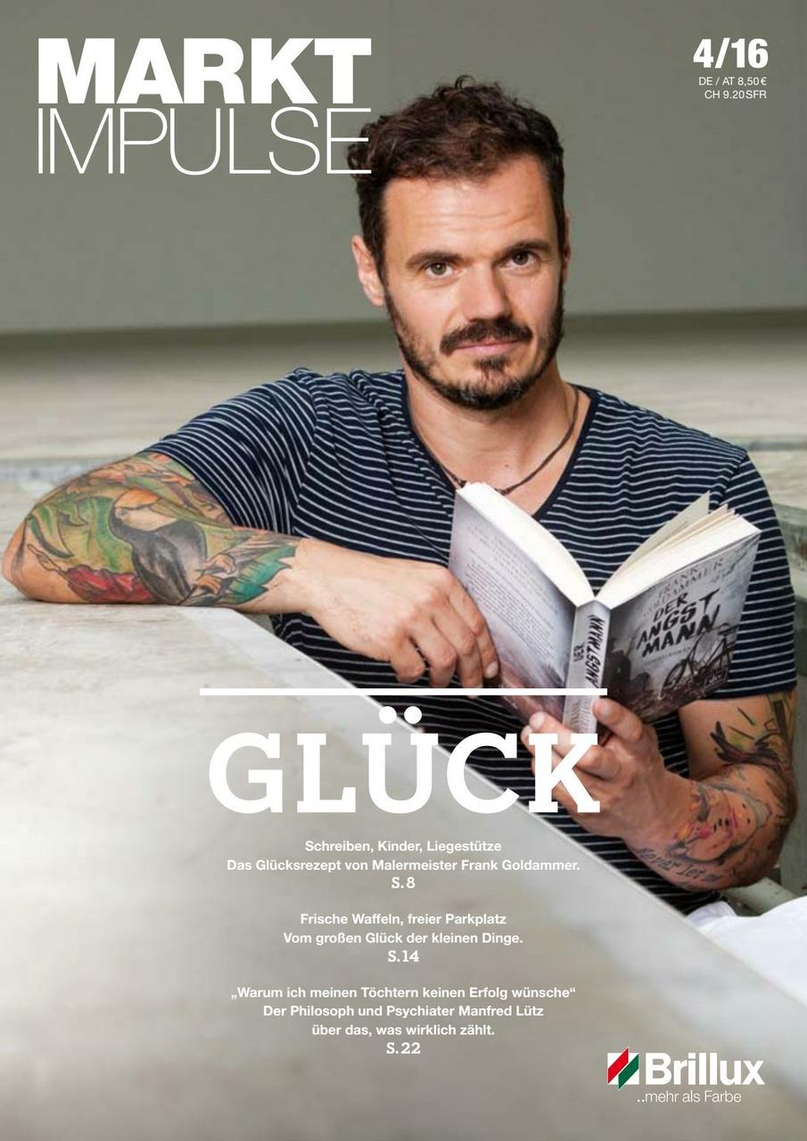 Das KundenClub-Magazin; Glück