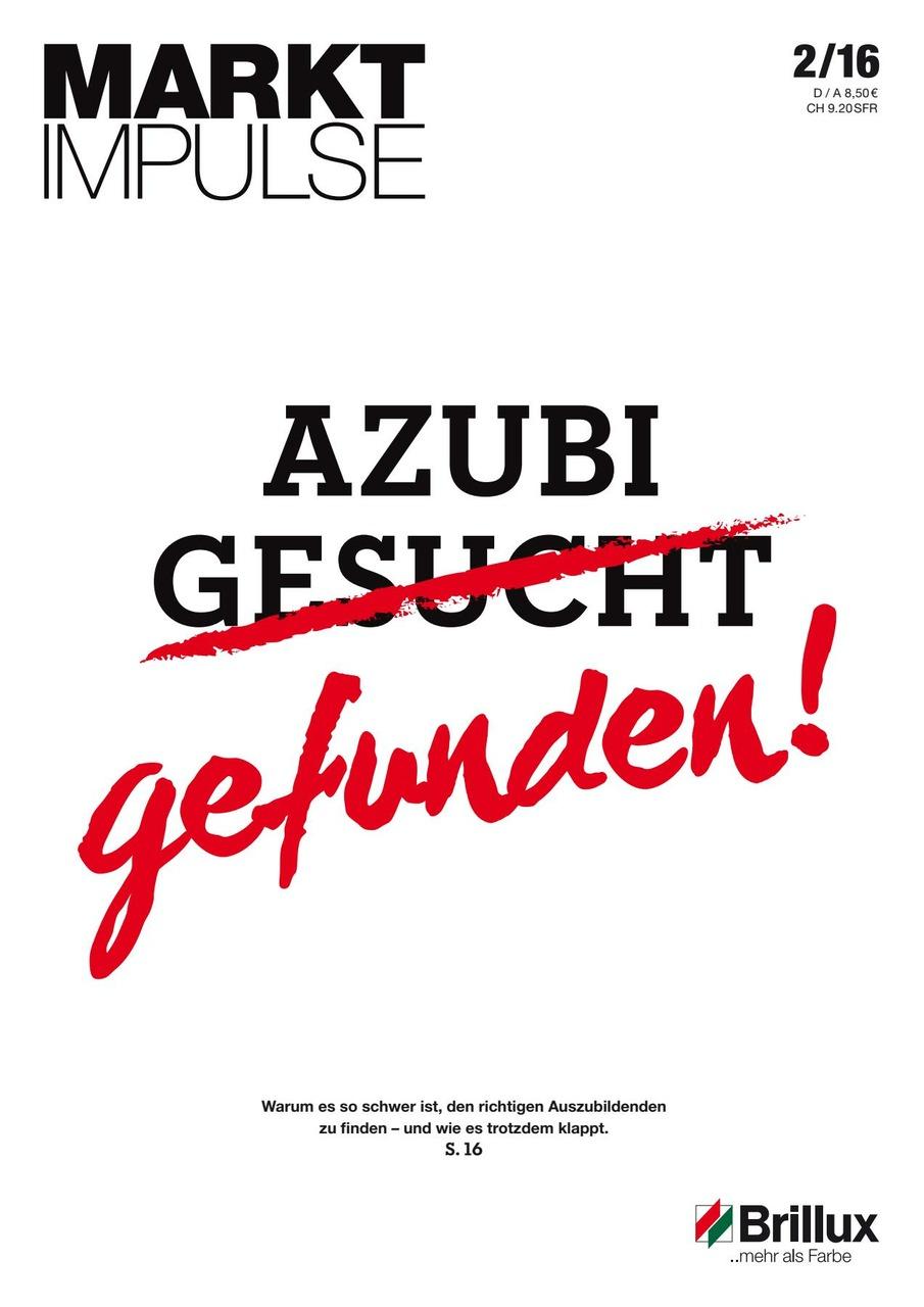 Das KundenClub-Magazin; Azubi gesucht - gefunden!