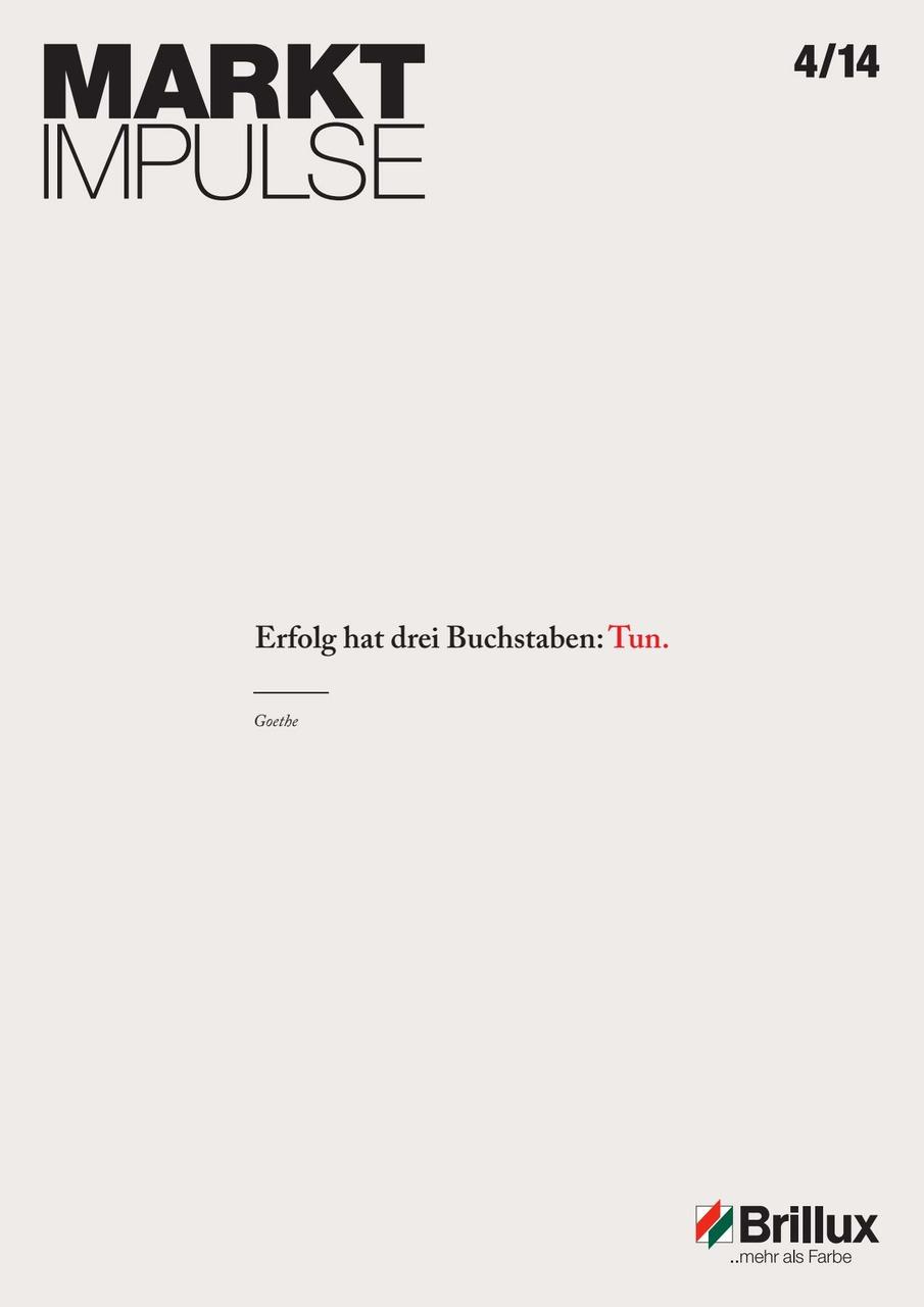 Das KundenClub-Magazin; Erfolg hat drei Buchstaben: Tun.