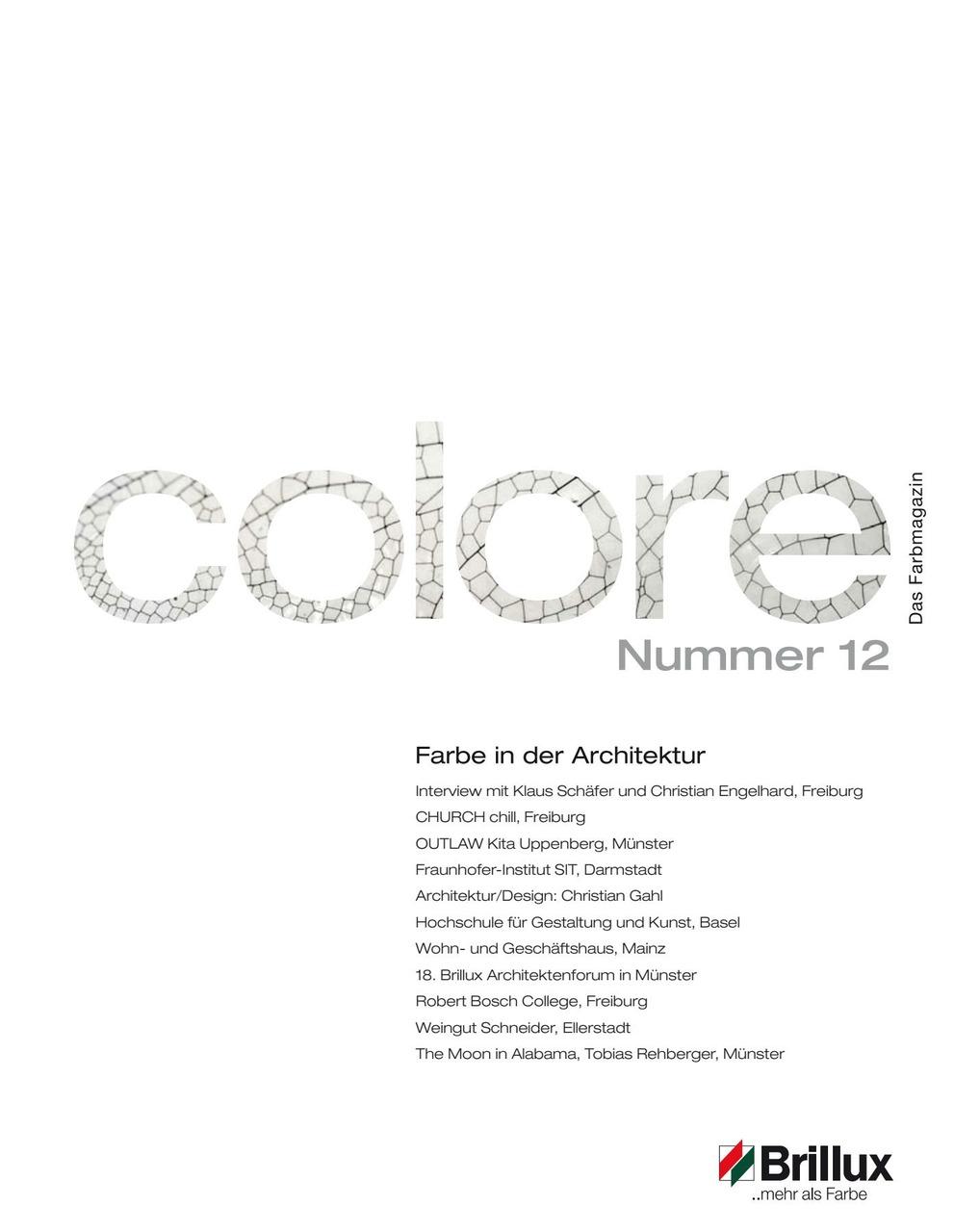colore Nummer 12 | Das Farbmagazin