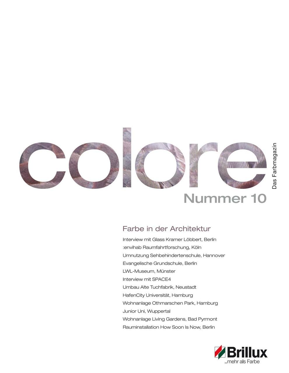colore Nummer 10 | Das Farbmagazin
