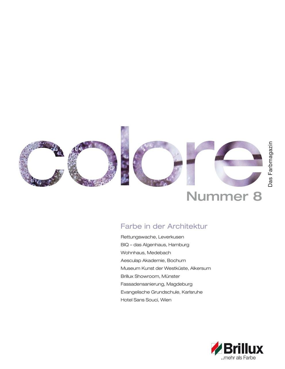 colore Nummer 08 | Das Farbmagazin