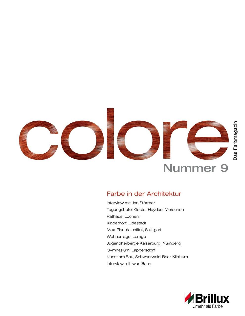 colore Nummer 09 | Das Farbmagazin