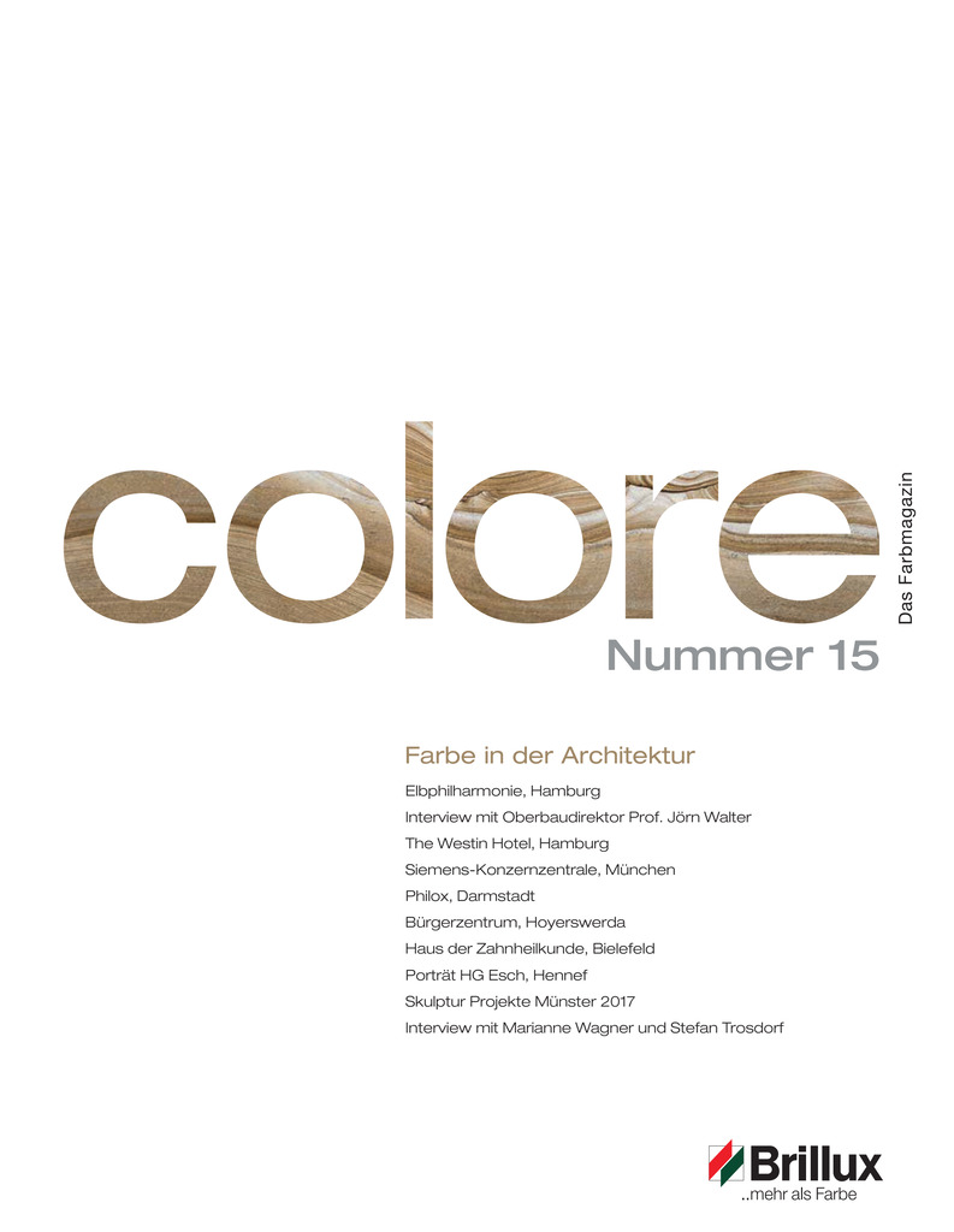 colore Nummer 15 | Das Farbmagazin