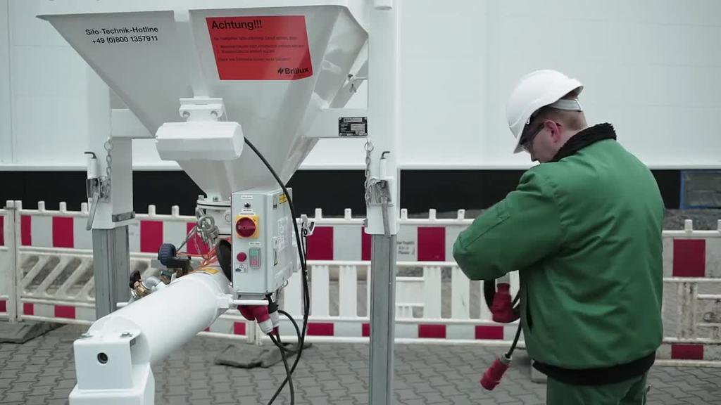 Videoanleitung zum Stromanschluss eines Trockensilos