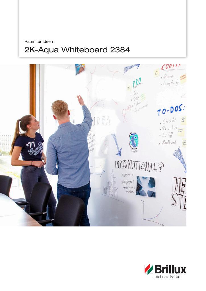 2K-Aqua Whiteboard 2384 - Raum für Ideen