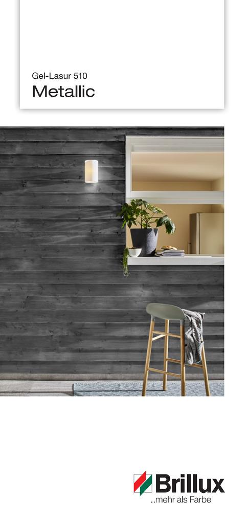 Mit den speziellen Metallic-Farbtönen lassen sich moderne und charakterstarke Gestaltungen mit edlem Effekt umsetzen.