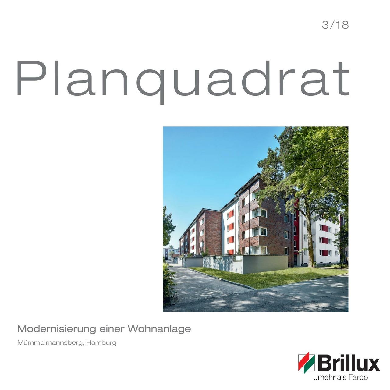 Modernisierung einer WohnanlageMümmelmannsberg, Hamburg