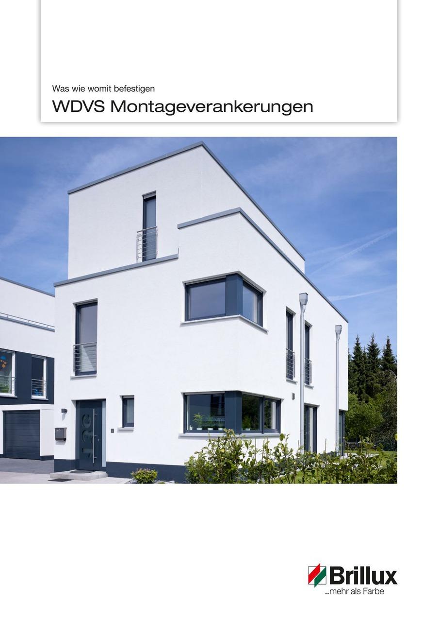 WDVS-Montageverankerung, WDVS Montageverankerung