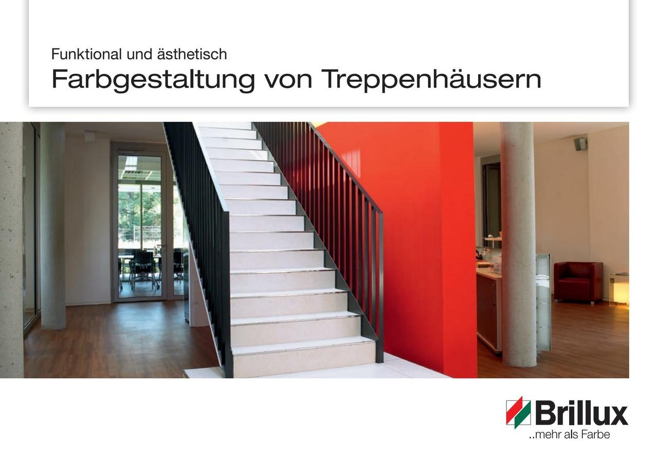 Broschüre Treppenhausgestaltung