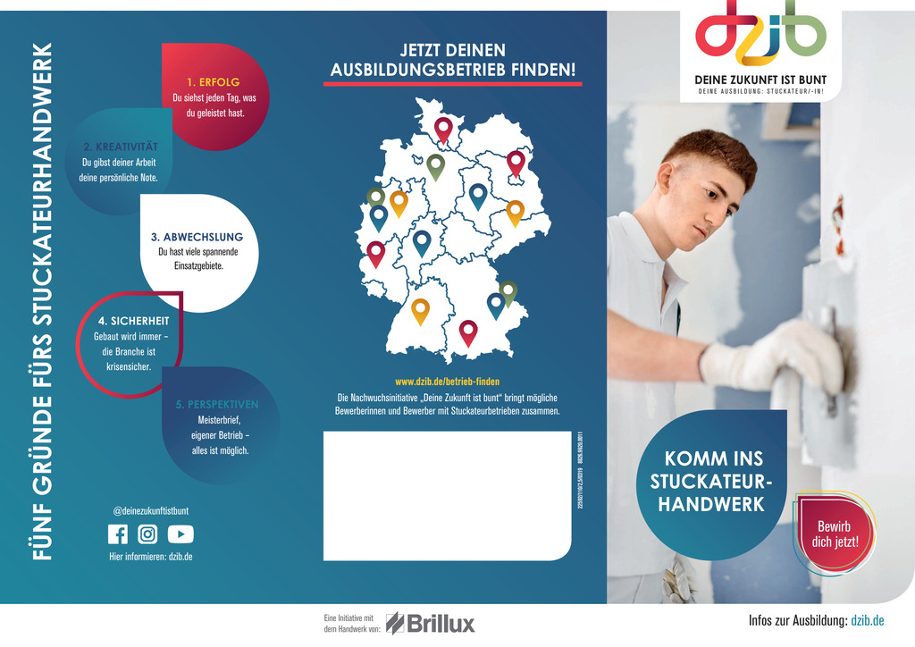 DZib Flyer Stuckateur