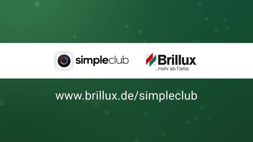 Gemeinsam mit Brillux digitalisiert simpleclub nun auch die Maler- und Stuckateurausbildung. In diesem Video erhalten Sie einen kurzen Einblick in die Lernvideos und bekommen aufgezeigt, wie die Inhalte anschaulich und zielgruppengerecht vermittelt werden.