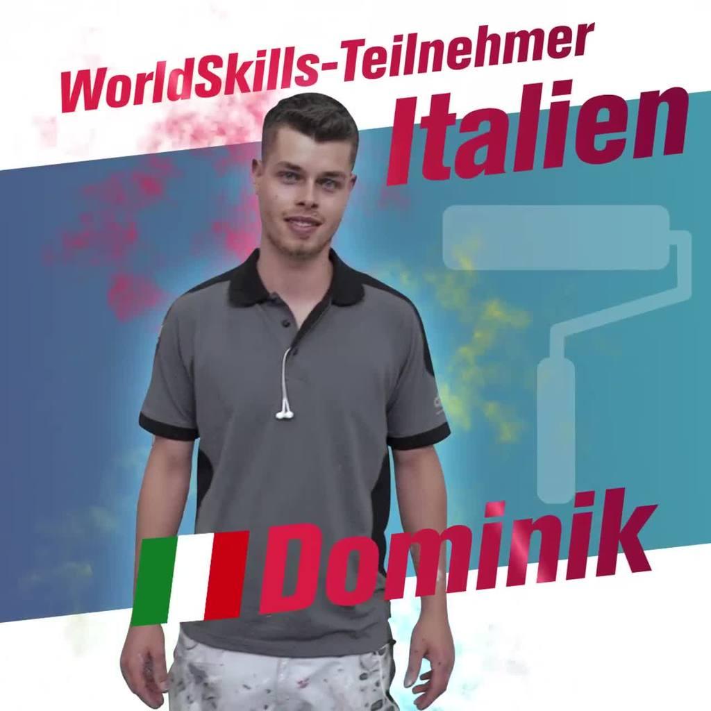 WorldSkills Teaser Dominik | Video auf Instagram