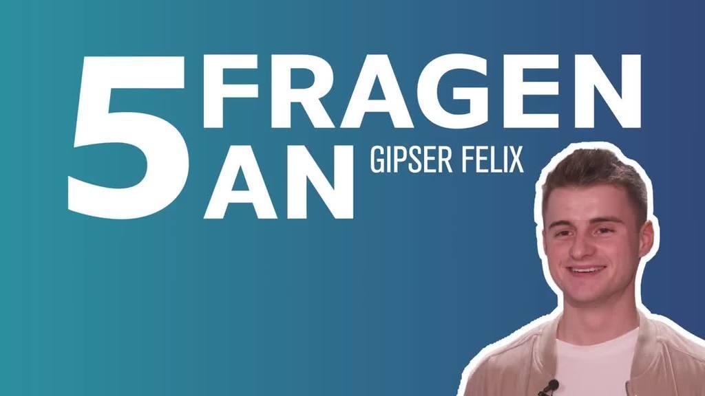 5 Fragen an Gipser Felix: Was ihn stolz macht | Video