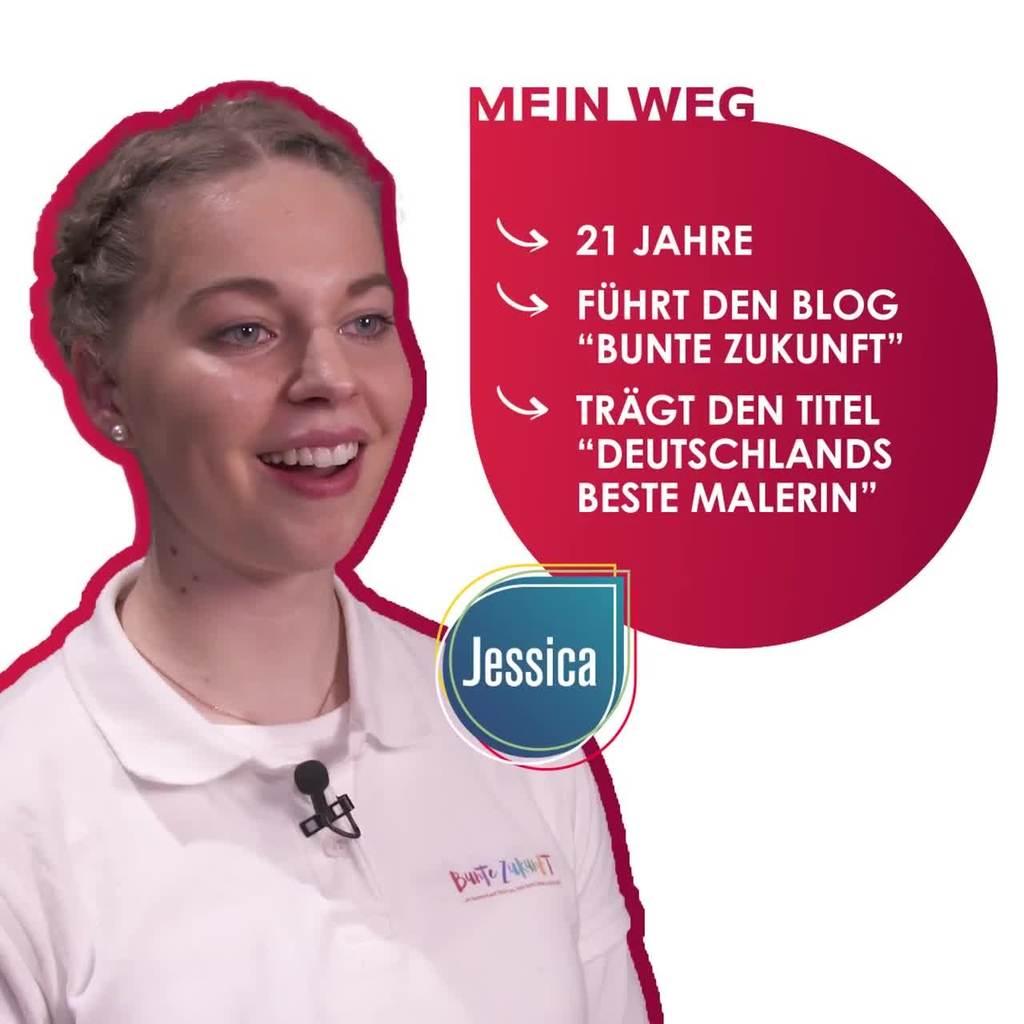Mein Weg - Malerin Jessica Jörges | Video auf Instagram