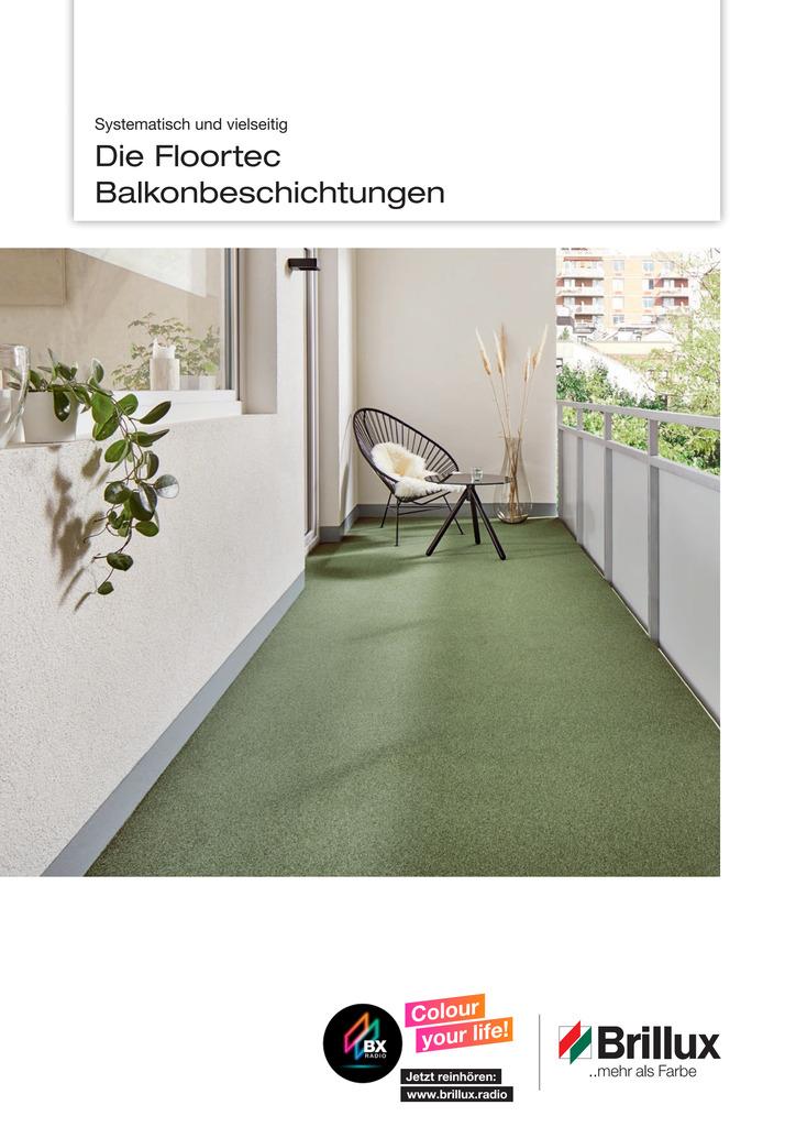 Systematisch und vielseitig: Floortec Broschuere