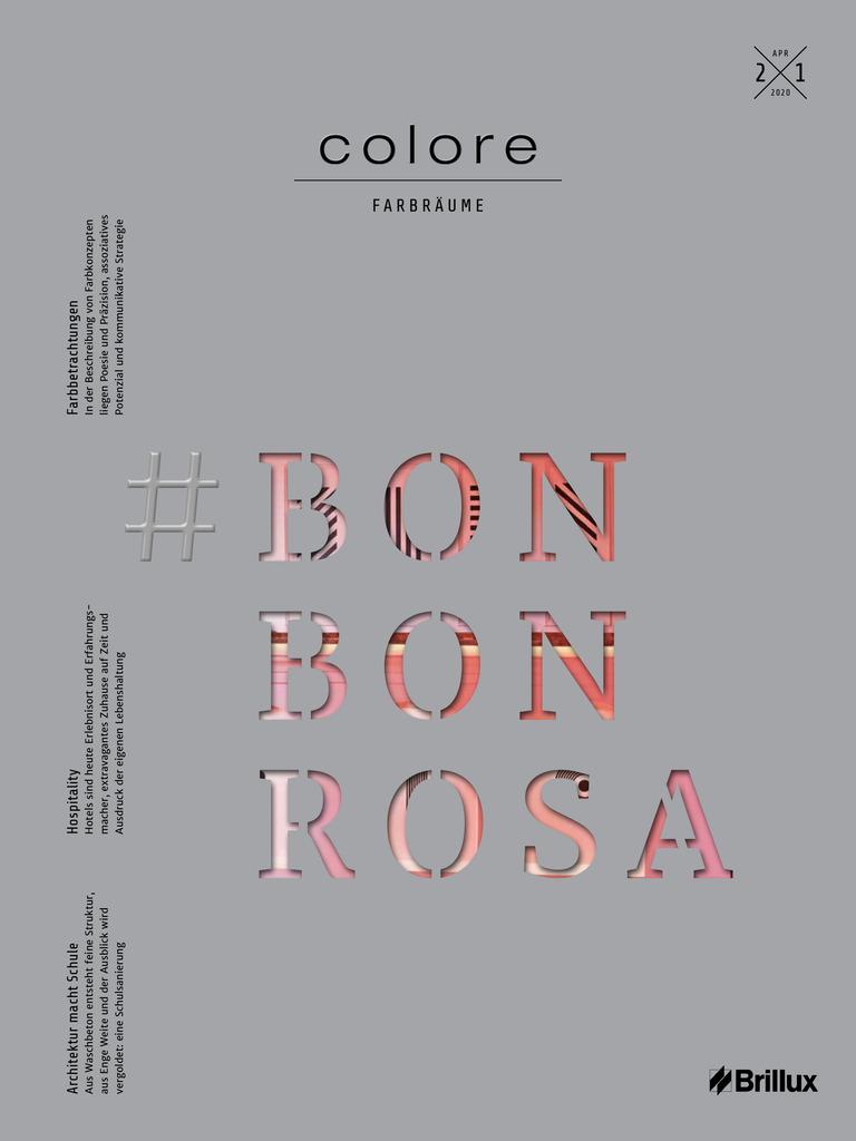 colore Nummer 21 bonbonrosa | Das Farbmagazin