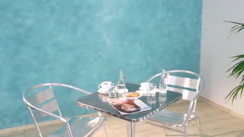 met Creativ Algantico 70 voor gladde, in kleur changerende, samenhangende oppervlakken met een fijn marmerkarakter