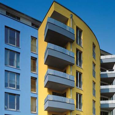 02 Systemanschlüsse an Balkone, Terrassen und Logien sowie Austritte