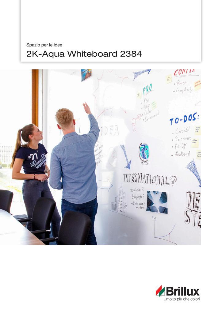 2K-Aqua Whiteboard 2384 - Spazio per le idee