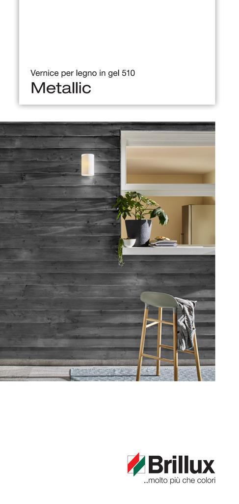 Con gli speciali colori Metallic è possibile creare decorazioni moderne, di grande carattere ed eleganti.
