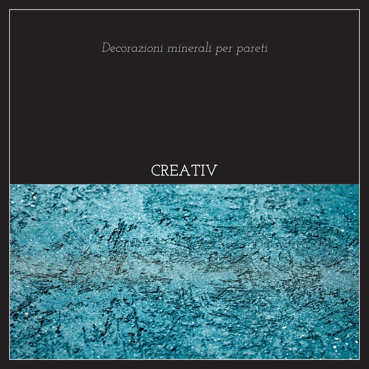L'opuscolo speciale Creativ presenta con parole e immagini la decorazione minerale per pareti.