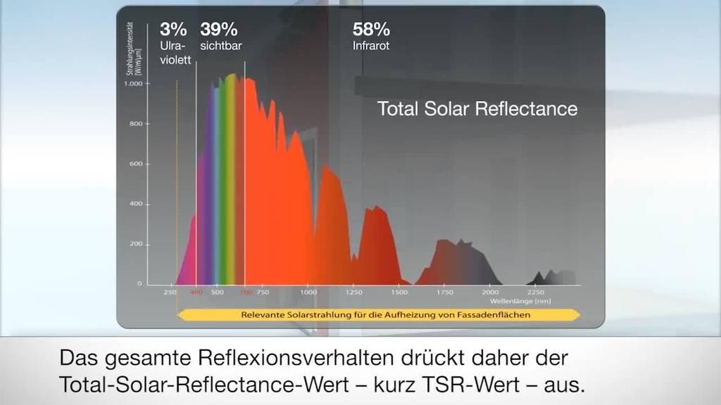 Entdecken Sie die neuen Möglichkeiten bei der farbigen Gestaltung auf Wärmedämm-Verbundsystemen. Dank des innovativen SolReflex Systems von Brillux können Sie kompromisslos beim Einsatz von dun klen Farbtönen sein.