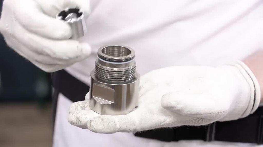 Informationen zur Inbetriebnahme der Airless-Kolbenpumpe Brillux ProSpray 39 Select.