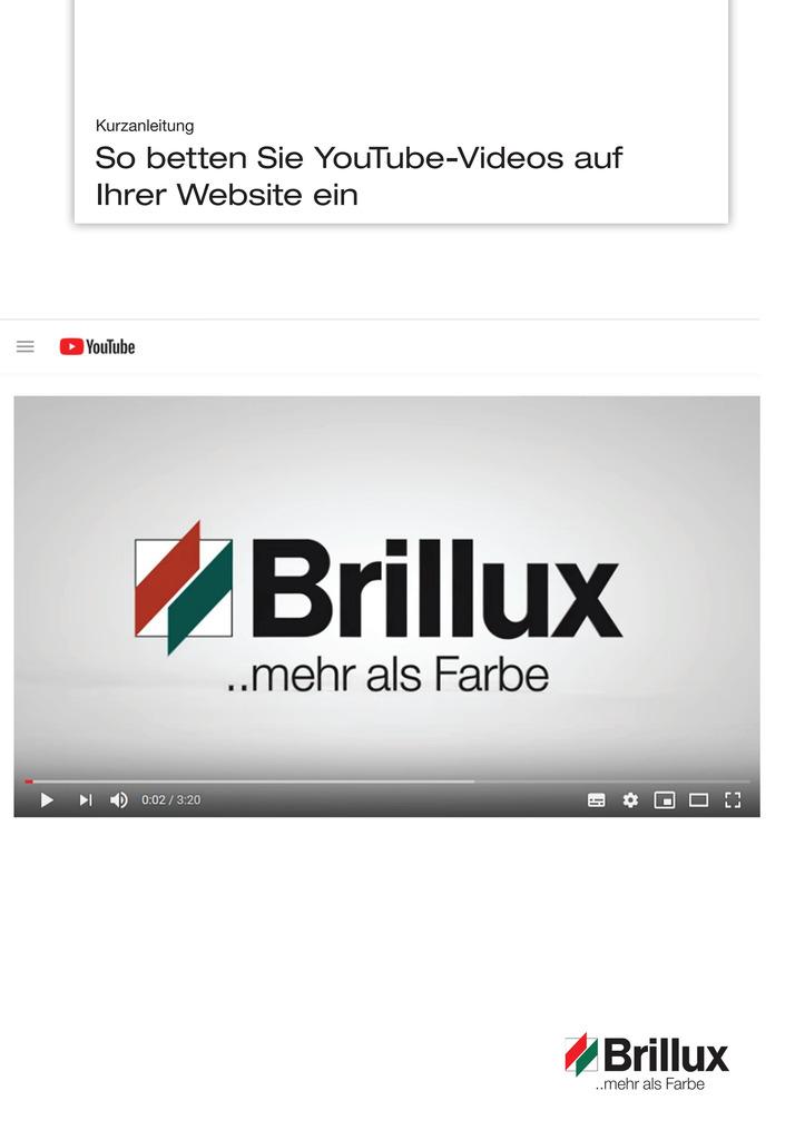 In dieser Kurzanleitung erfahren Sie, wie Sie ganz einfach YouTube-Videos auf Ihrer Website einbetten.