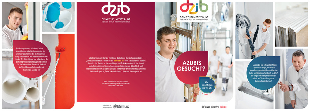 DZib Flyer vor Ort