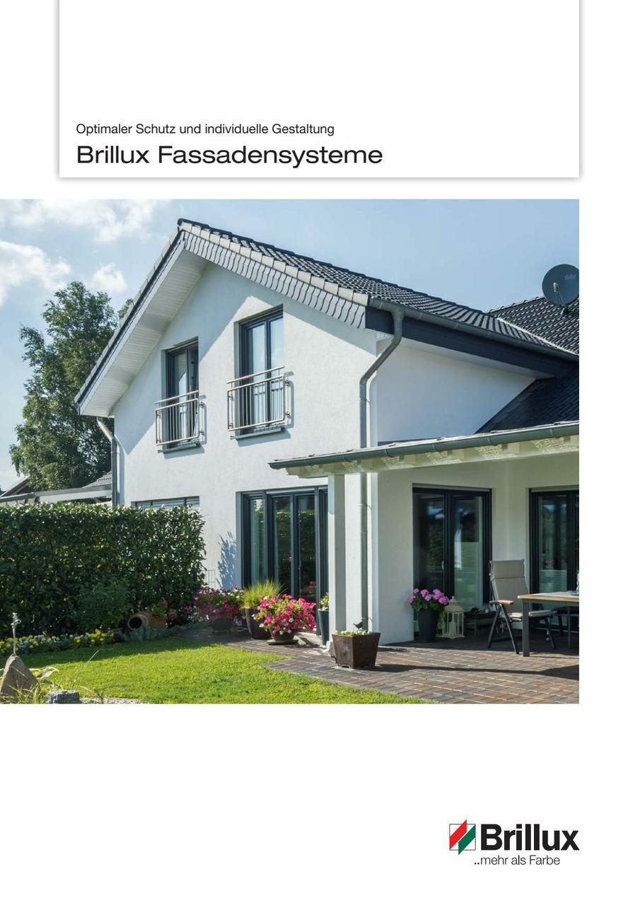 Brillux Fassadensysteme | Broschüre